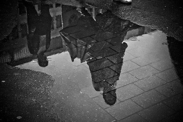白黒のイメージ