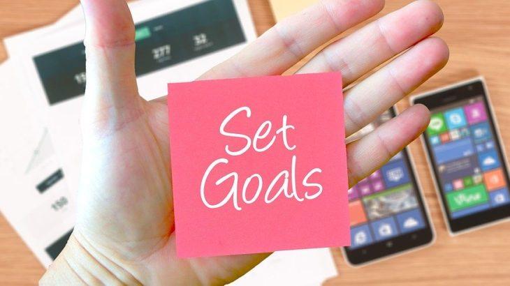 【集中のための目標設定】SMARTは個人の目標には向かない?目標設定のプロセスを解説
